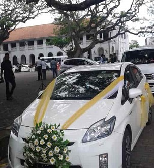 Wedding Cars In Galle